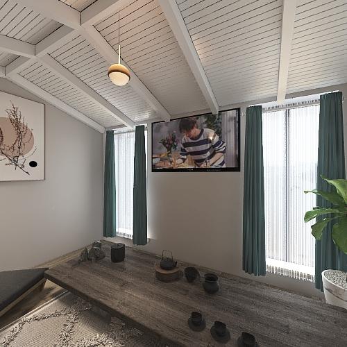 house number 4 Interior Design Render
