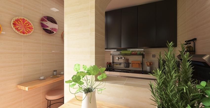 Minha Cozinha Interior Design Render