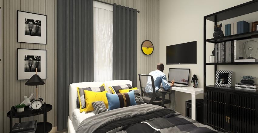 Nino´s Room Interior Design Render