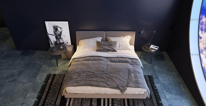 A Futuristic Room Design Interior Design Render