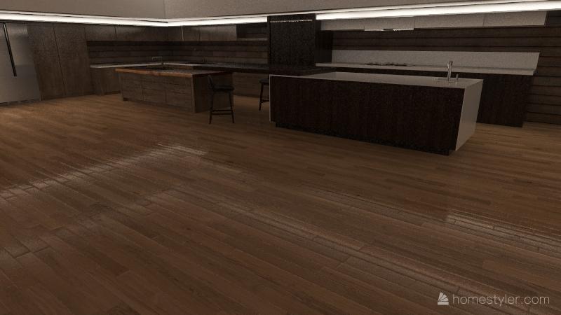 MANSION DE LA PLAYA Interior Design Render