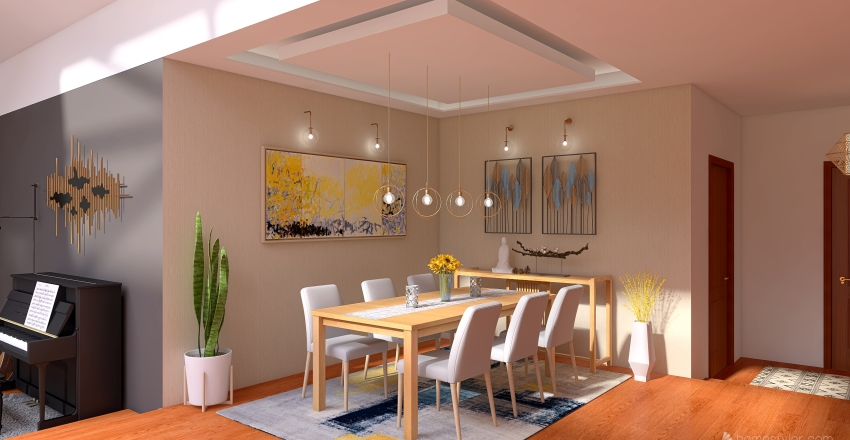 Ordibehesht Interior Design Render