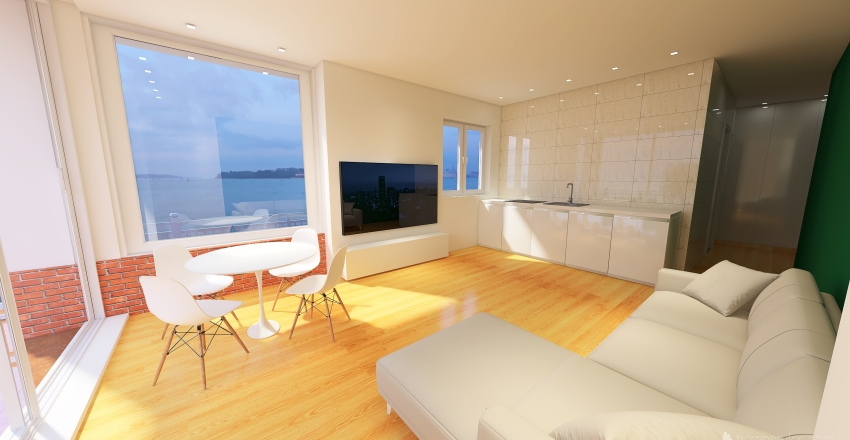 Nuova idea margherita Interior Design Render
