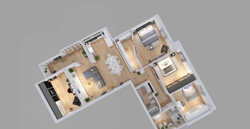 Sirotti Interior Design Render