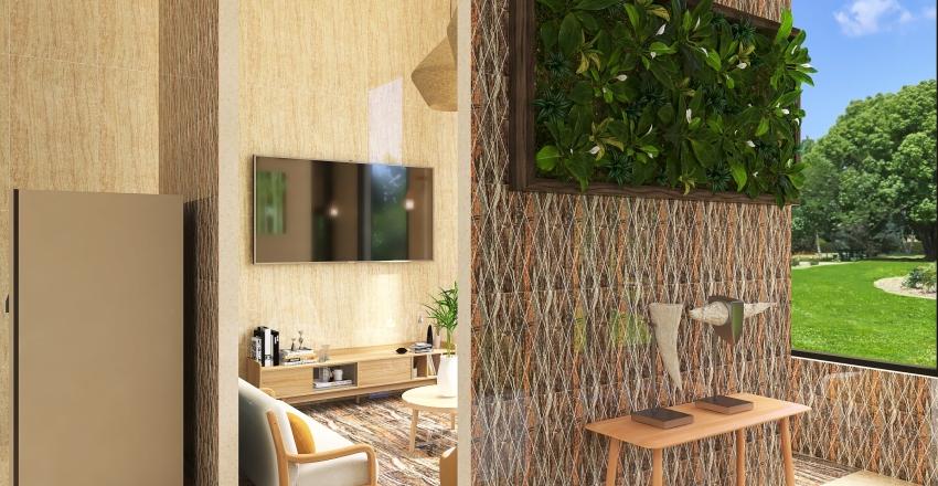 Hotel Dinosours World Interior Design Render