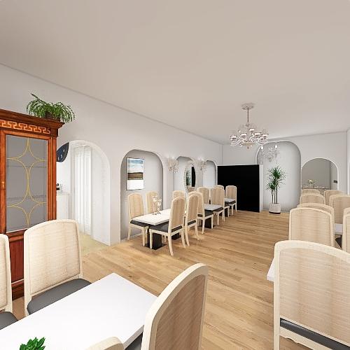 VERSIONE COMPLETA ristorante il sogno Interior Design Render