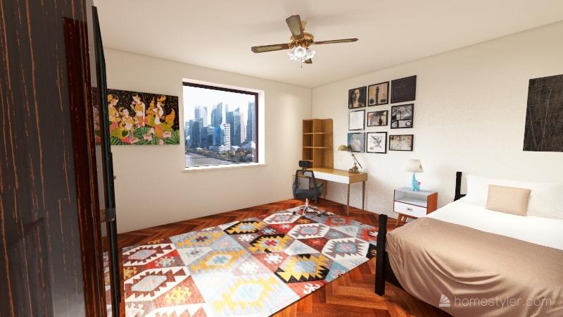 Cameretta Interior Design Render