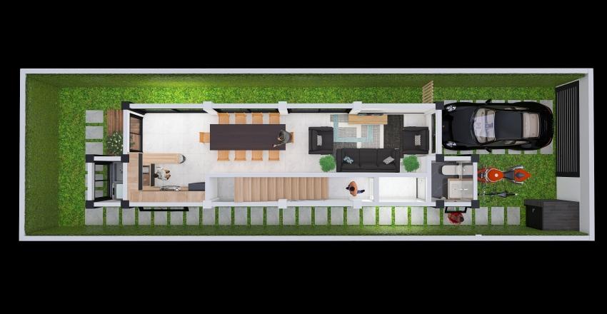 1era. Planta - MODELO 1 Interior Design Render