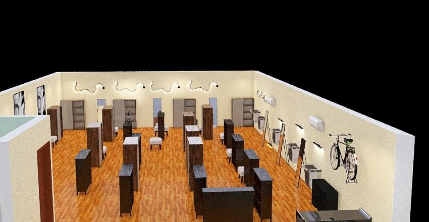 Tienda departamental Interior Design Render