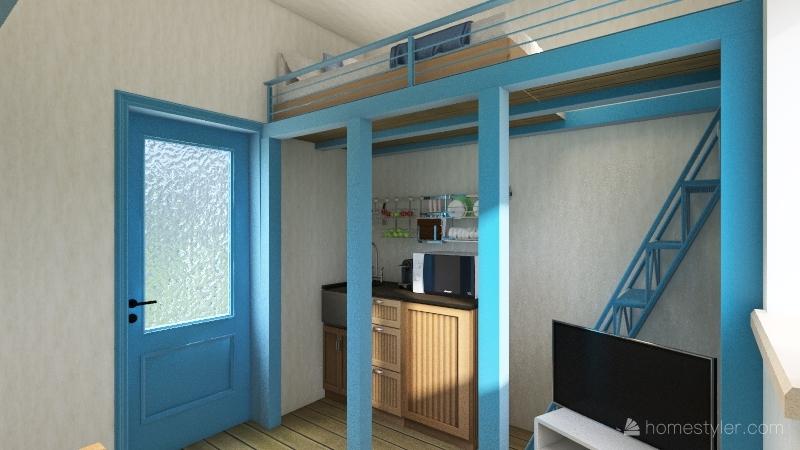 Casetilla Horche Interior Design Render