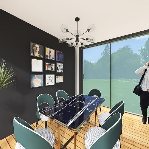 BOCETO 3 Interior Design Render