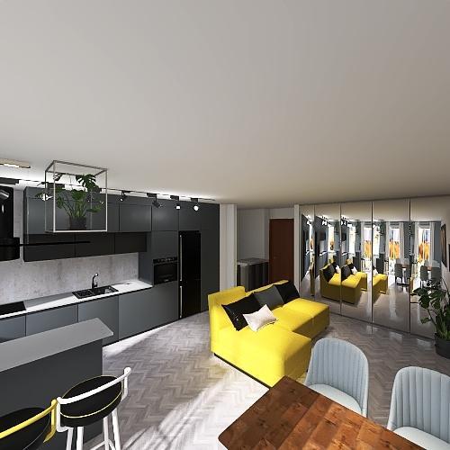 Kuchnia 27/04/2021 Interior Design Render