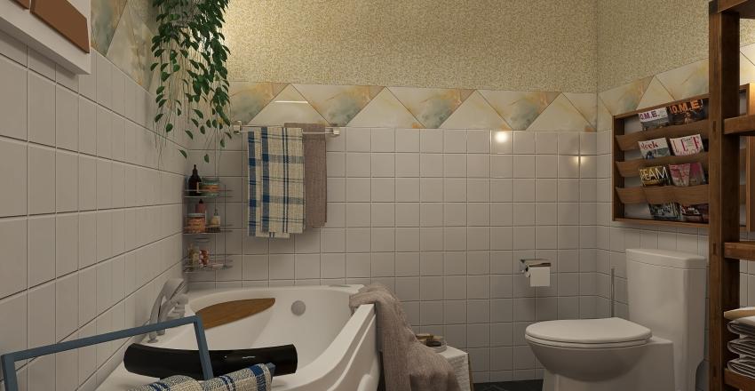 Same but different style Interior Design Render