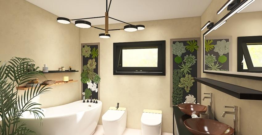Baia Miroslava House Interior Design Render