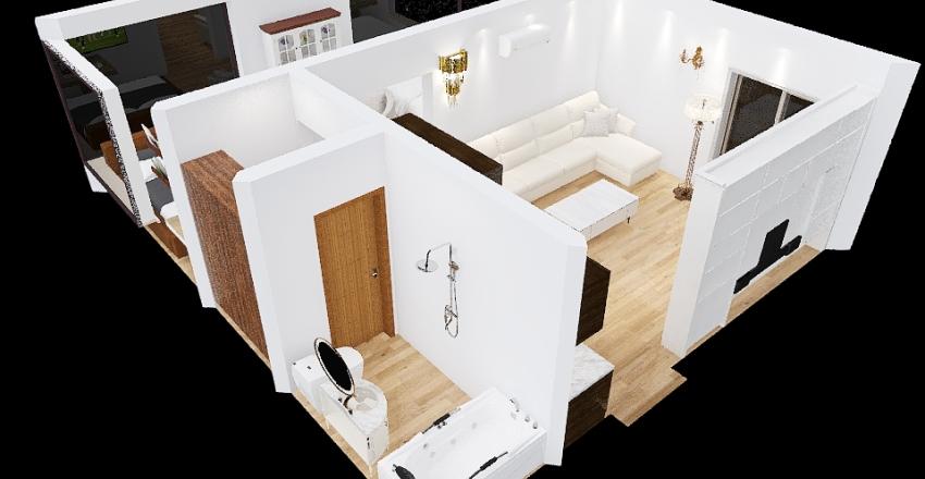 small house 102 Interior Design Render