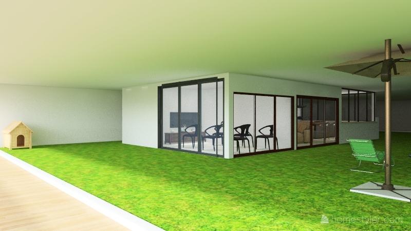 Área de Lazer Marcos Tal Interior Design Render