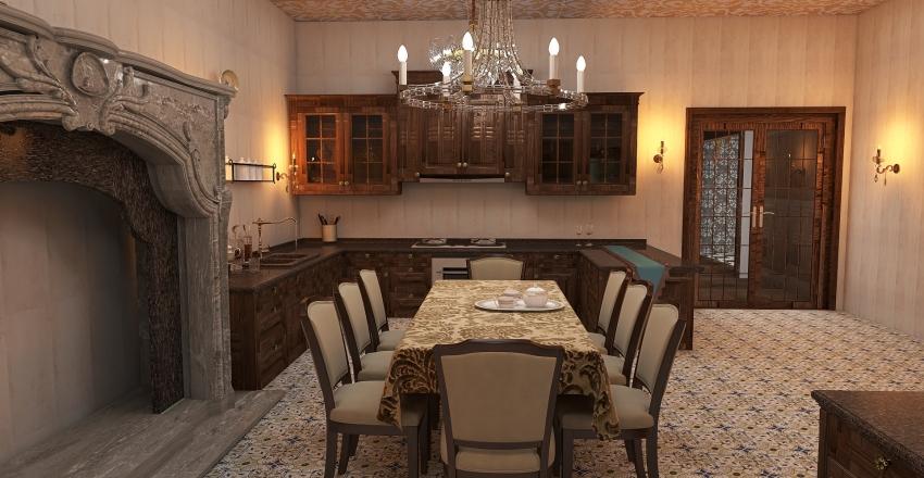 little palace Interior Design Render