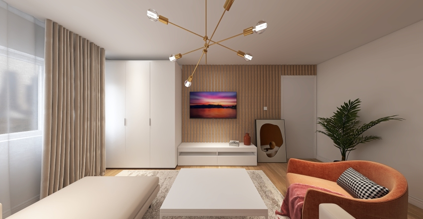 ROBERTA APARTAMENT V3 Interior Design Render