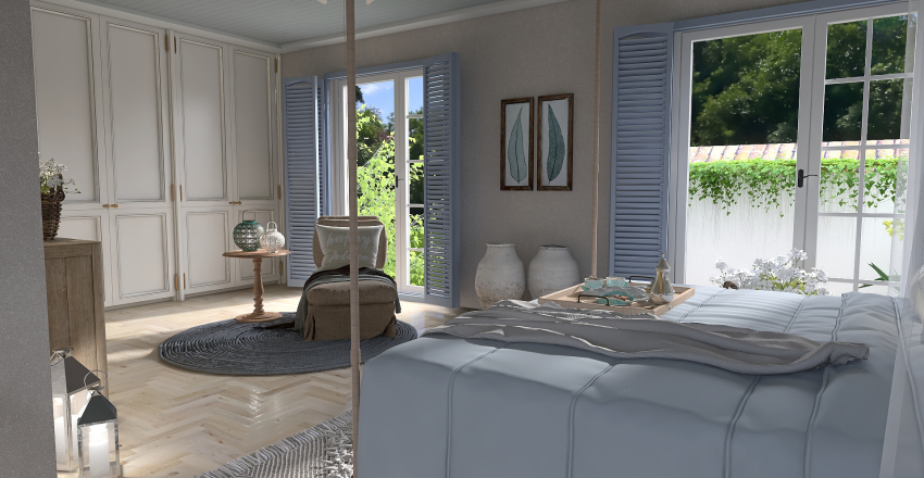 La casa del embarcadero Interior Design Render