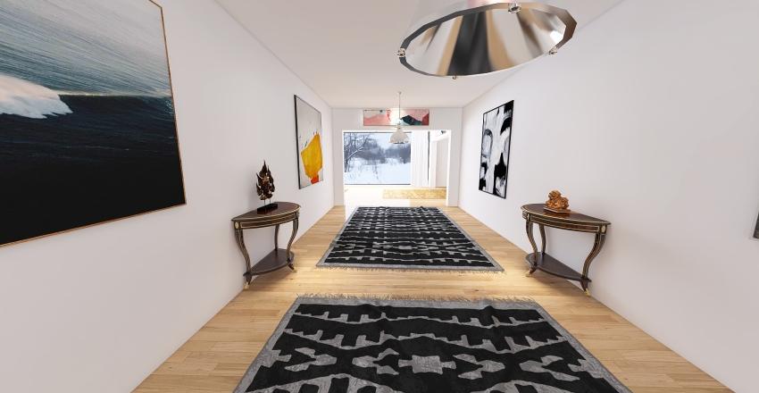 Secluded Duplex Interior Design Render