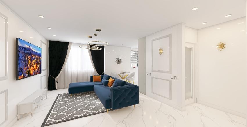 Квартира архикад Interior Design Render