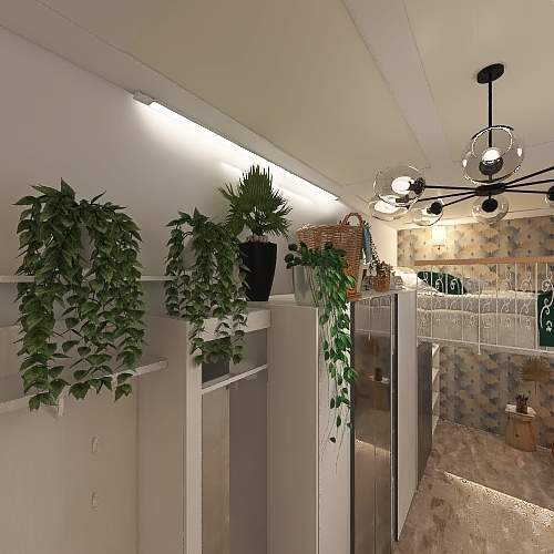 Tinny home Interior Design Render