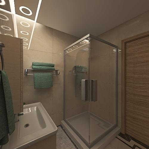 Wood haus Interior Design Render