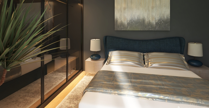 Master Bedroom 5 Interior Design Render