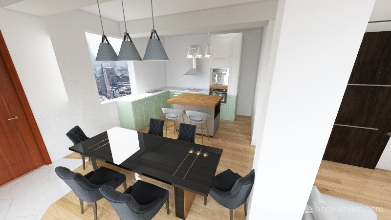 NEW OPEN CONCEPT Interior Design Render