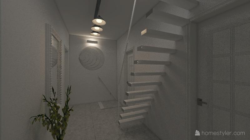 INTERA VILLA ROSSELLI FORTE Interior Design Render