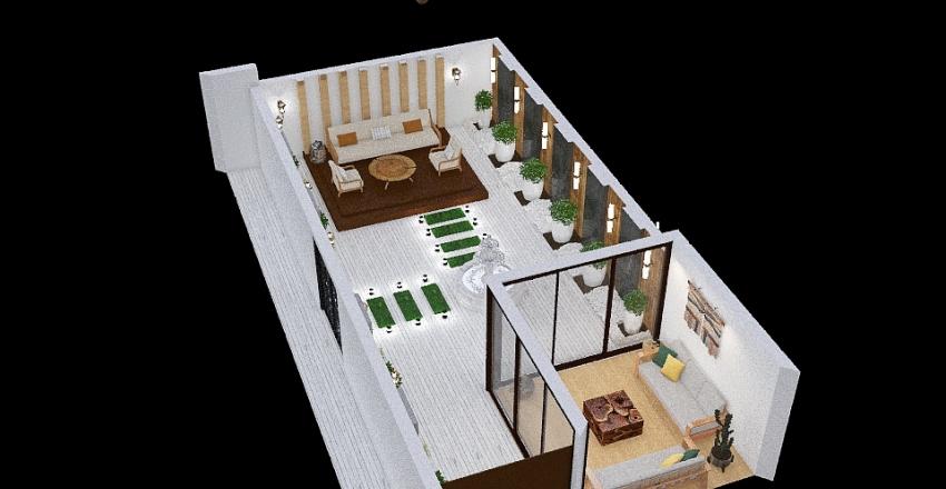 حديقه Interior Design Render