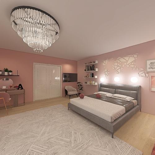 Agricia rooms Interior Design Render