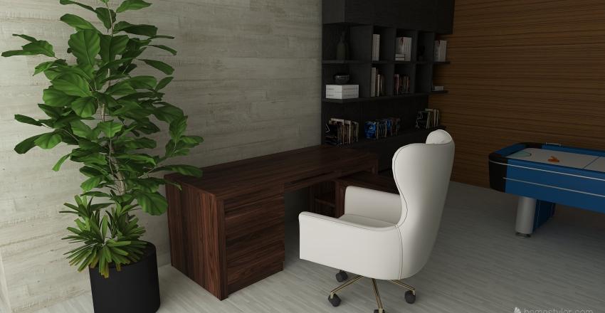 casa moderna 1 Interior Design Render