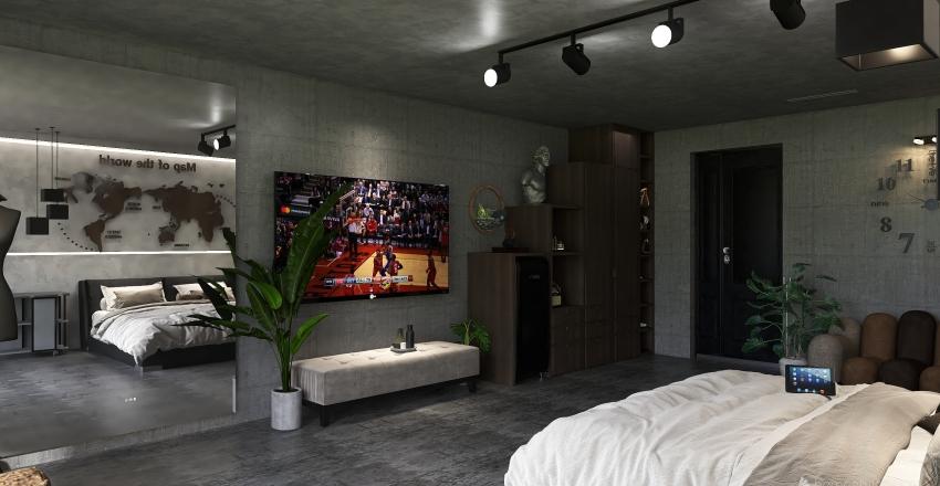 bored Interior Design Render