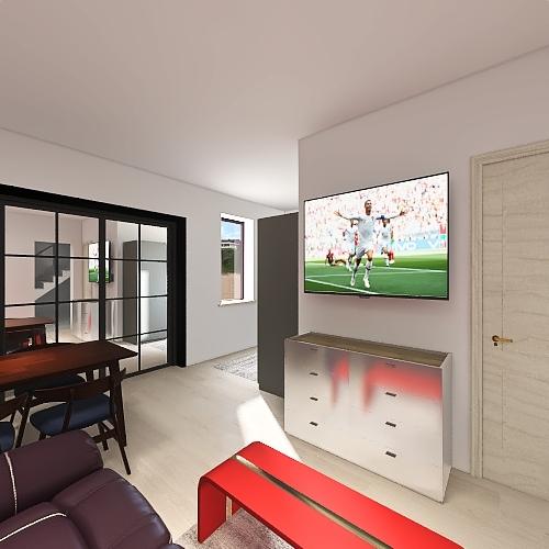 Bacina Prizemlje v8 Interior Design Render