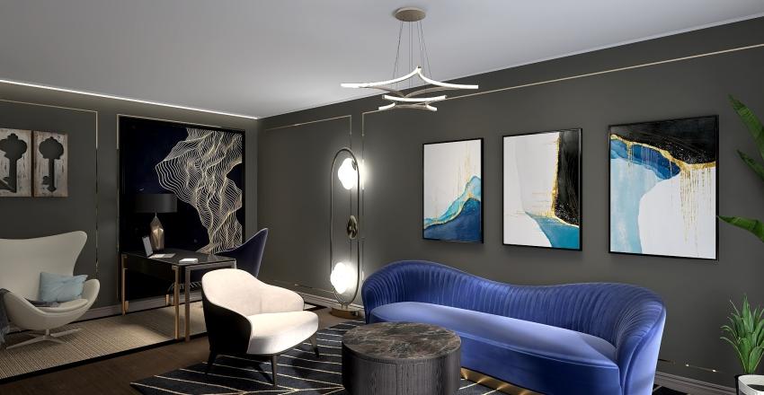 INTREGUL -Art Deco Interior Design Render