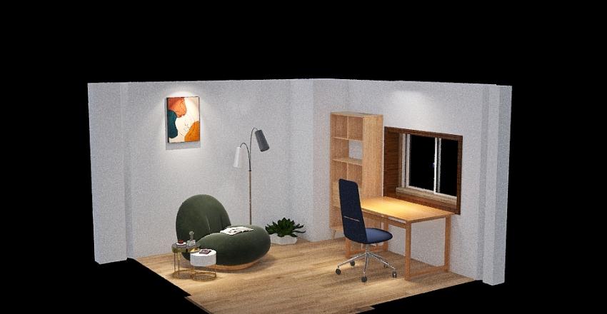 四国大学 課題1 Interior Design Render