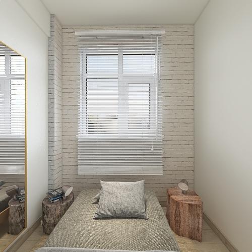 Small Apartment in Whitechapel Interior Design Render