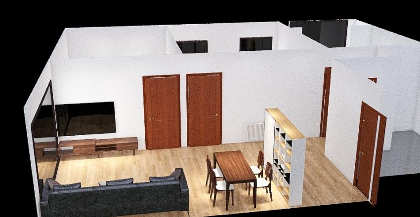 Copy of piso Interior Design Render