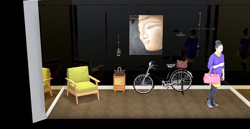 Traditional Theme VM Interior Design Render