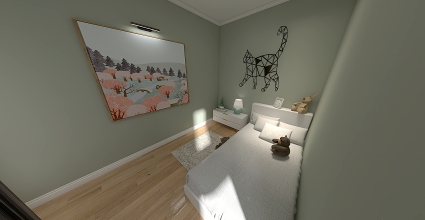 kids Interior Design Render