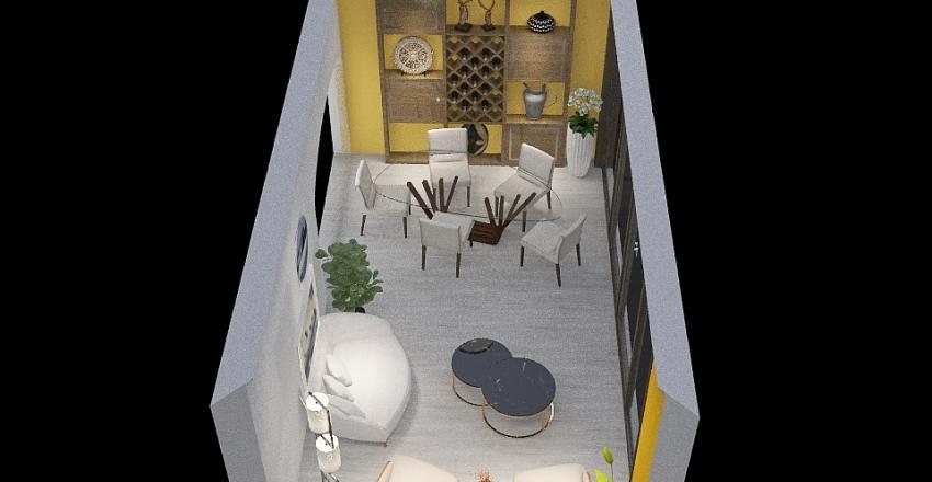 Tarea - presentación  1 Interior Design Render