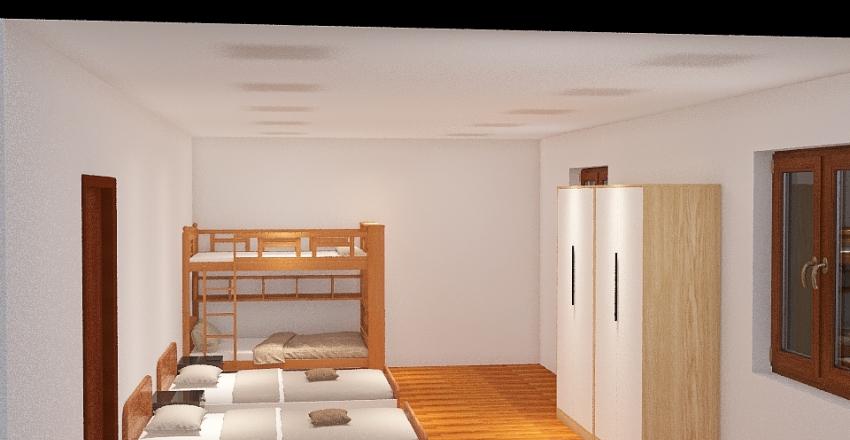 Esempio Stanza Casa Sorelle Interior Design Render