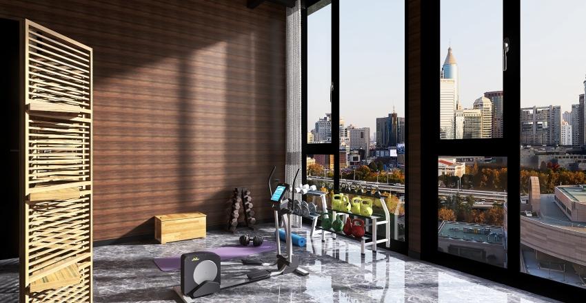 Dubai Villa Interior Design Render