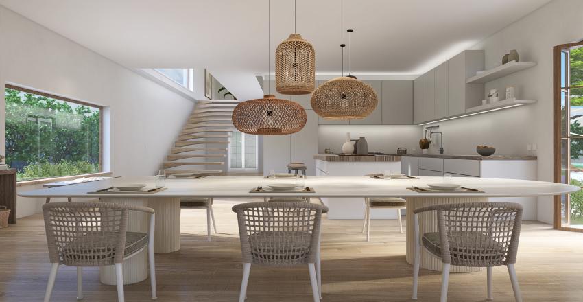 """Retreat and Relax"" Villa Interior Design Render"