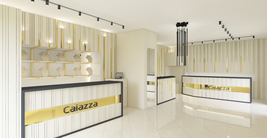 Gioielleria Interior Design Render