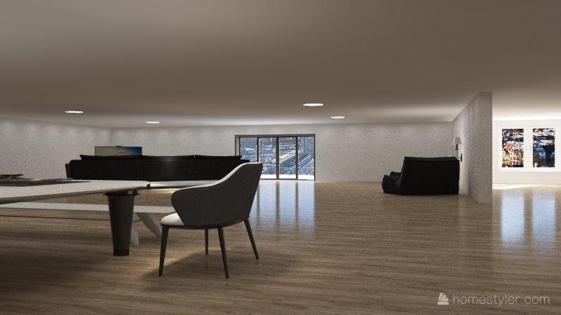 dream condo Interior Design Render