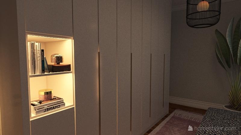 cali dream Interior Design Render