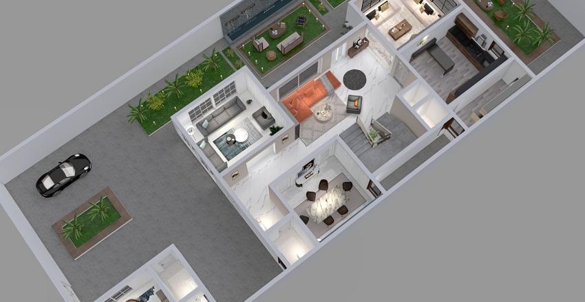 شركة املاك Interior Design Render