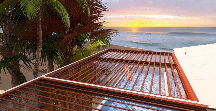 The Sunset Interior Design Render